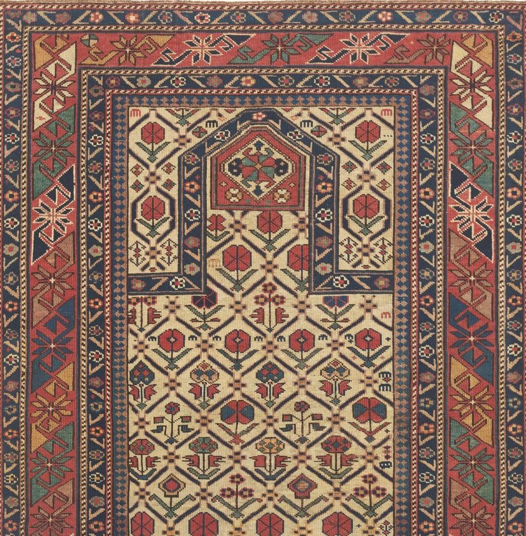 Vintage ornament rug